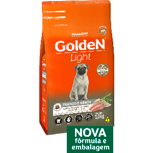 Golden Fórmula Mini Bits Light Cães Adultos Salmão e Arroz