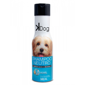 Shampoo K-Dog Neutro para Cães 500ml