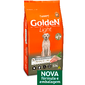 Golden Fórmula Light para Cães Adultos 15kg